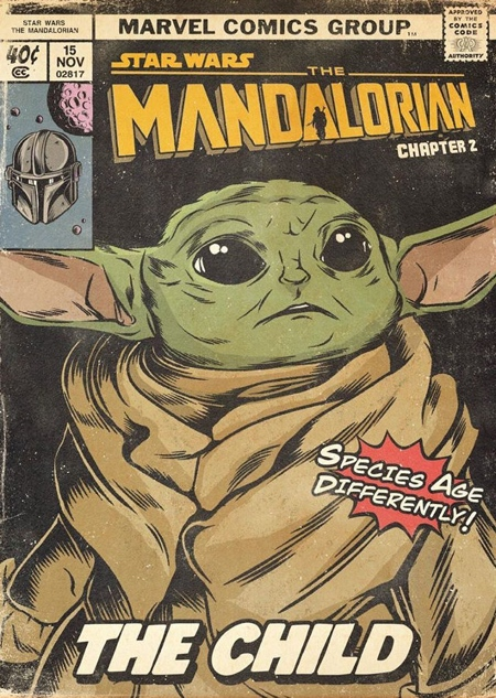 The Mandalorian Comic Book