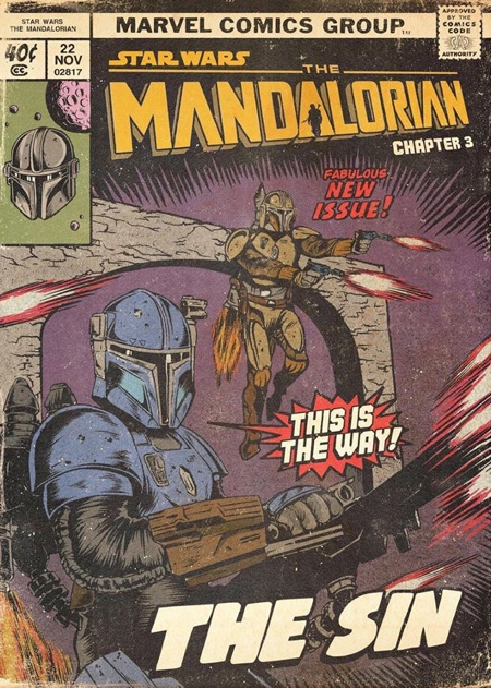Mandalorian Comic Book