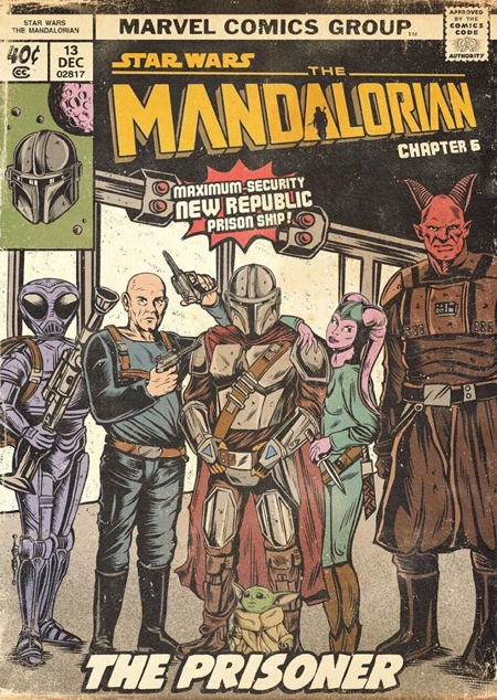 The Mandalorian Comic