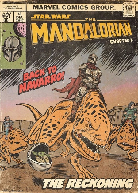The Mandalorian Comics