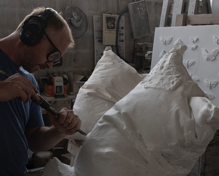 Pillows Made of Marble