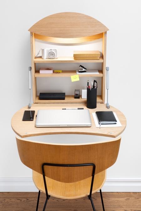 Hanging Fold-Down Desk