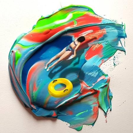 Golsa Golchini Painting