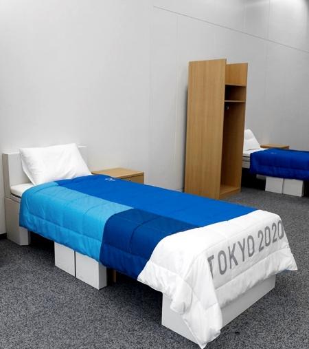 Airweave Tokyo 2020 Cardboard Beds