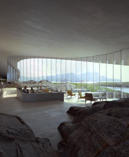 Whale Building Andenes Norway