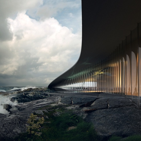 Whale Building in Norway