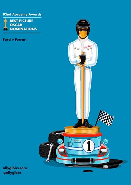 Ford v Ferrari Best Picture Oscar Nominee
