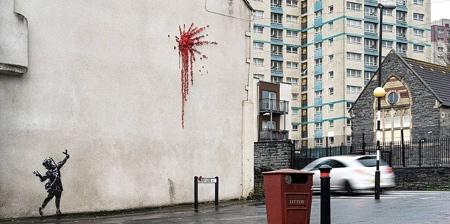 Banksy Valentines Day