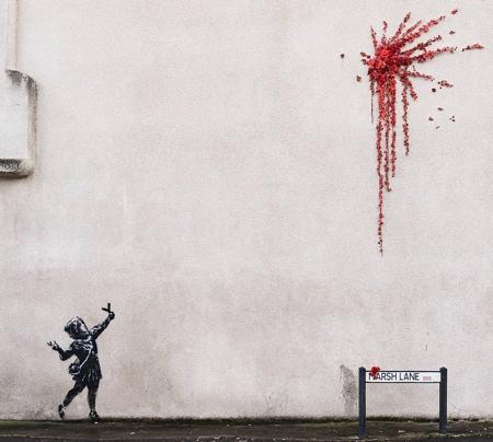 Valentines Day Banksy