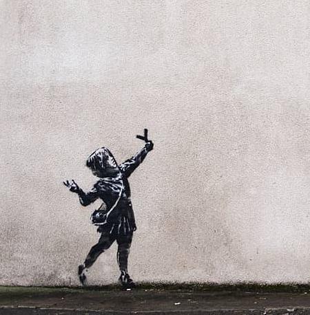 Valentines Day by Banksy