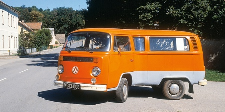 Bent VW Bus