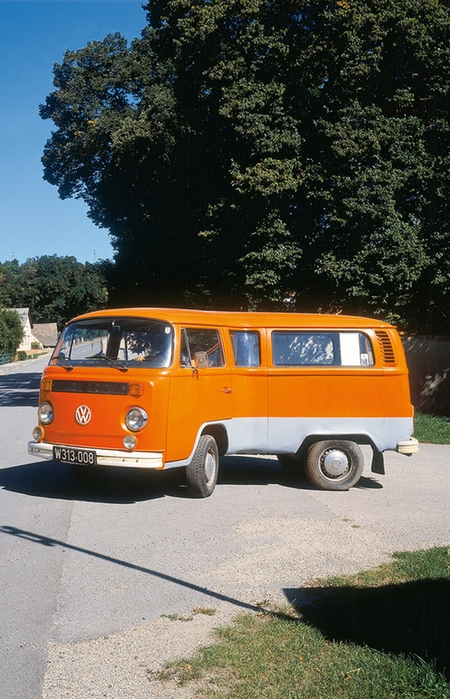 Bent Volkswagen Bus