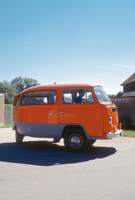 Erwin Wurm Bent VW Bus
