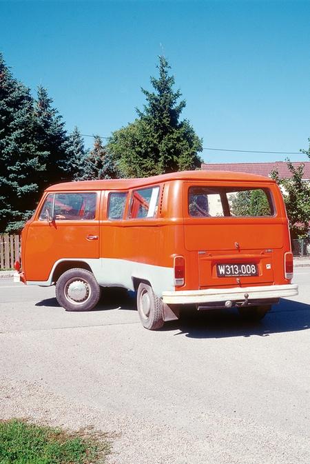Erwin Wurm Bent Volkswagen Bus