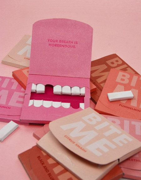 Teeth Gum Packaging