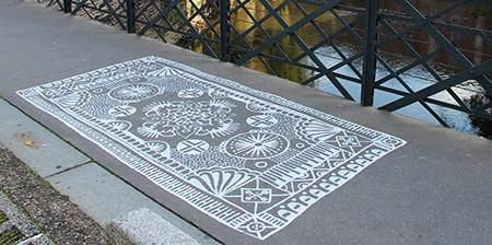 Carpet Street Art