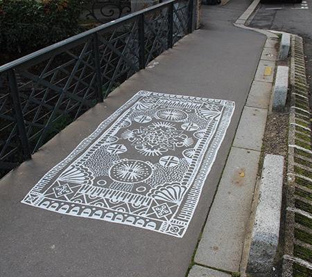 Carpets Street Art
