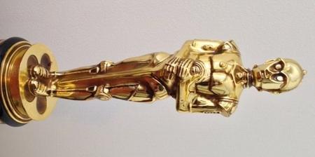 Star Wars C-3PO Oscar Statue