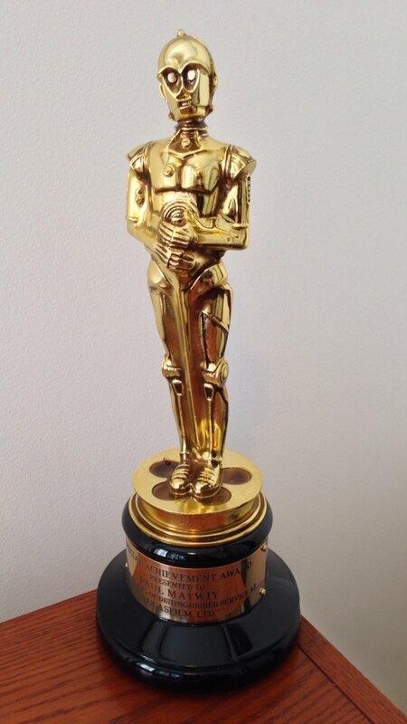 C-3PO Oscar Statue
