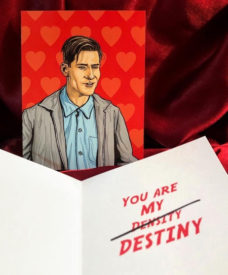 George McFly Valentines Day Card