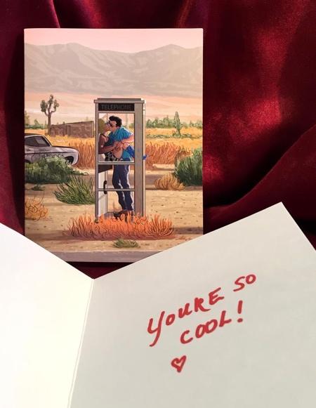TRUE ROMANCE Valentines Day Card