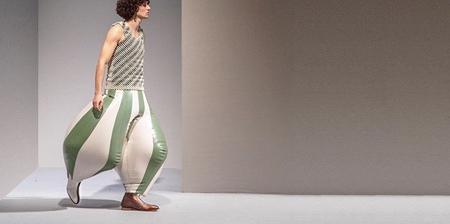 Inflatable Latex Pants