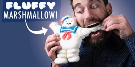 Edible Ghostbusters Marshmallow Man