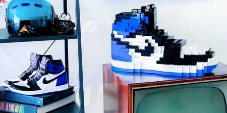 NIKE Shoes Made of LEGO
