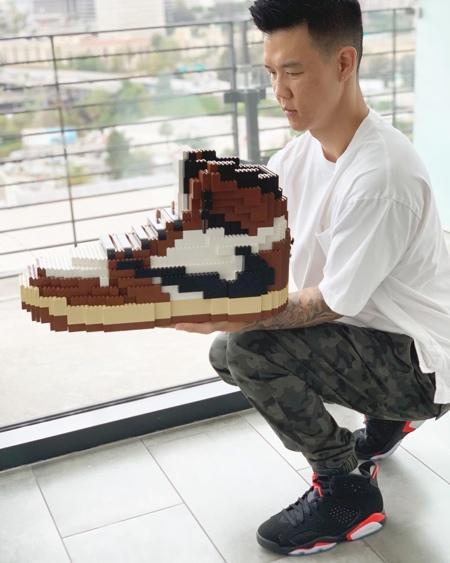 lego nike sneaker