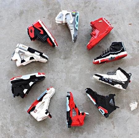 LEGO Nike Sneakers
