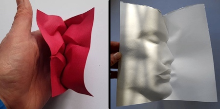 Folded Paper Faces