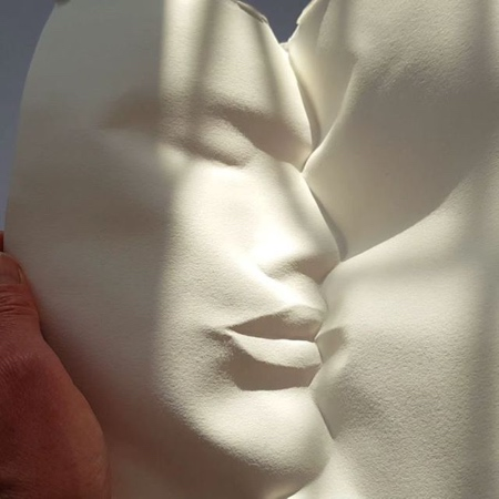 Folded Paper Face