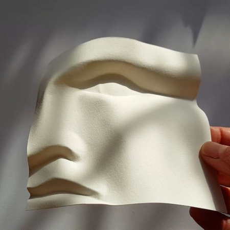 Curved Paper Face