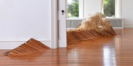 Wooden Floor Waves