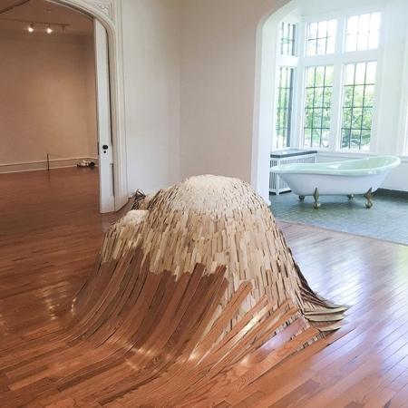 Wood Floor Waves
