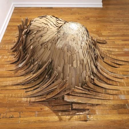 Wood Floor Wave