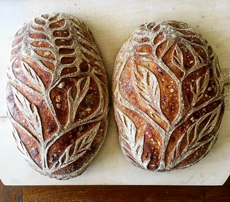 Pattern Bread Loaves