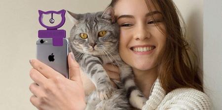 Cat Selfie Phone Attachment