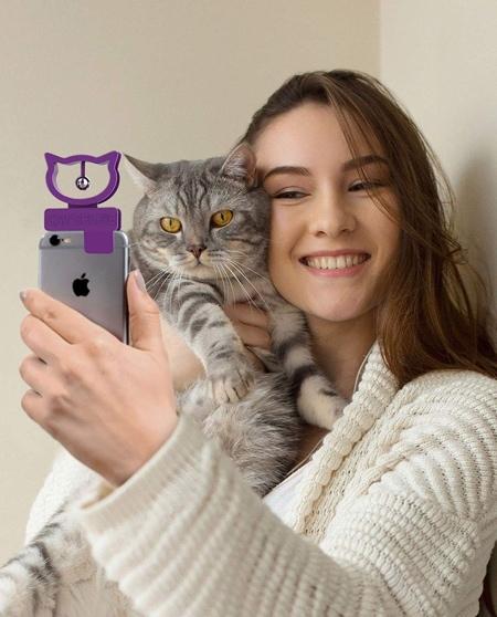 Cat Bell Phone Attachment