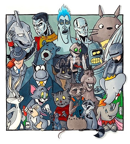 Grey Famous Characters