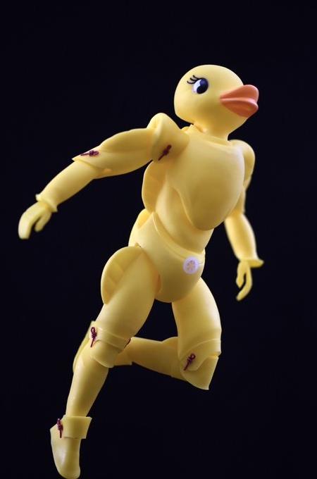 Duck Action Figure