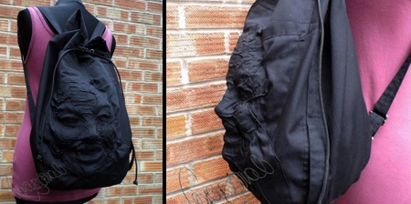 Human Face Backpack