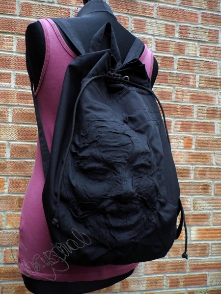 Petra Banyai Human Face Backpack
