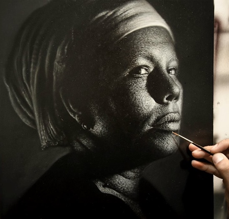 Painter Kamalky Laureano