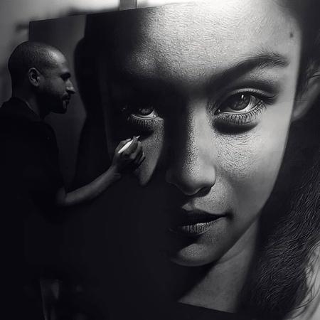 Artist Kamalky Laureano