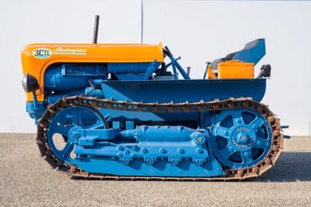 Restored Lamborghini Tractor