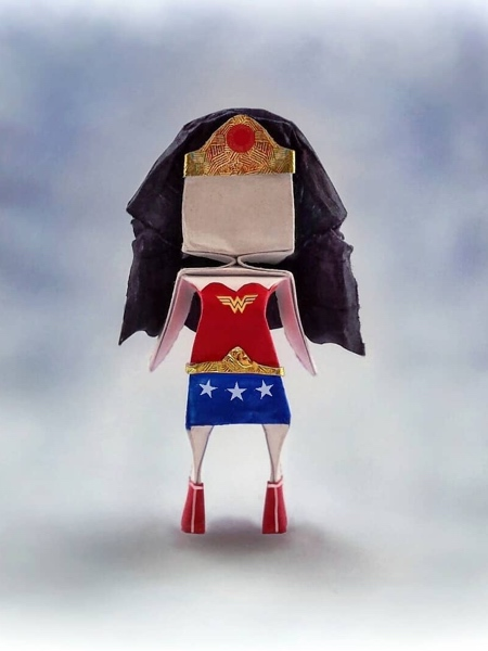 Wonder Woman Origami