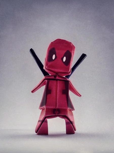 Deadpool Origami