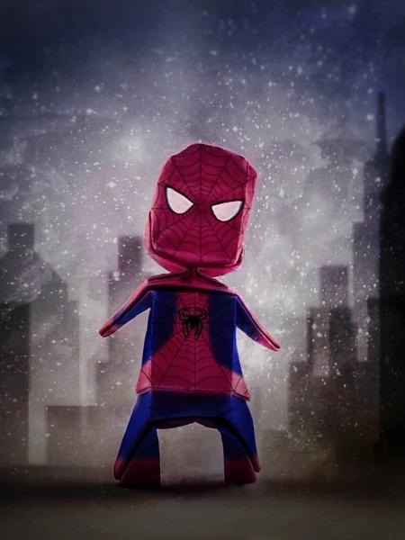 Spider-Man Origami