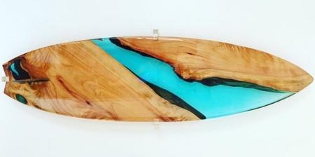 Resin Surfboard